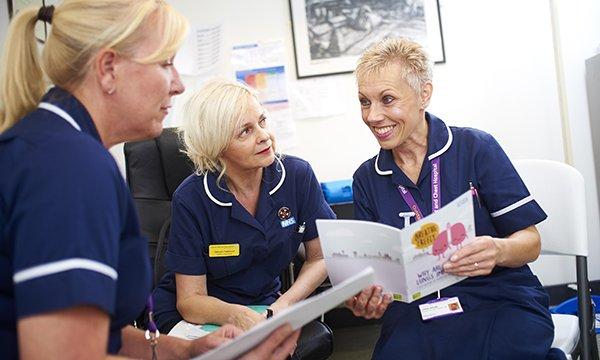 Deborah Fleetwood, Paula McCann-Finney and manager Linda ...